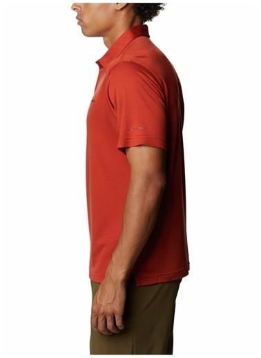 Columbia Columbia Erkek Kahverengi Polo T-Shirt Kahve